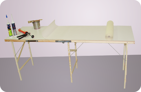 Tables for wallpapering