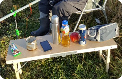 stolik wędkarski
